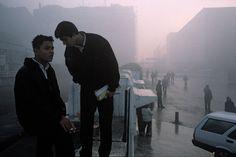 Turkey, Istanbul. 2003. Early morning fog in Taksim Squar, Alex Webb.