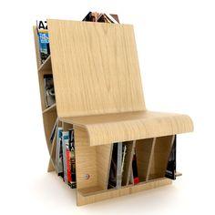 space saver.   Bookseat | ResourceFurniture