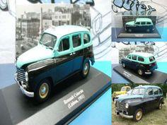 12,99 €: - Renault Colorale  - Táxi Lisboa (Portugal) 1951 - Escala 1:43  - Miniatura em metal fundido e plástico injectado de grande qualidade  - Nova dentro da embalagem ( vitrine ) - Fabrico da Ixo-Alt...