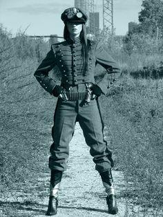 My Steampunk Army Model: Angela Steampunk  Photographer: Tommy Roberson