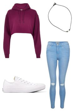 """Untitled #6"" by gabbyfuentes2001 on Polyvore featuring River Island, New Look and Converse"