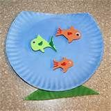 Daycare Crafts- Tissue Paper and Paper Plate Flower Craft | Glen ...