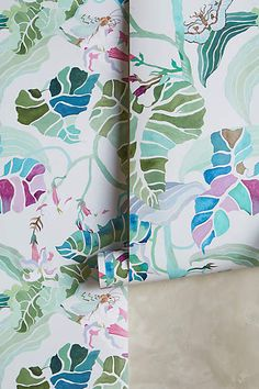 Paradise Found Wallpaper by Shelley Hesse
