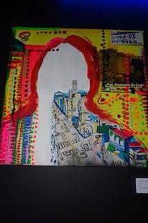 Colagem e acrílica sobre tela 2011