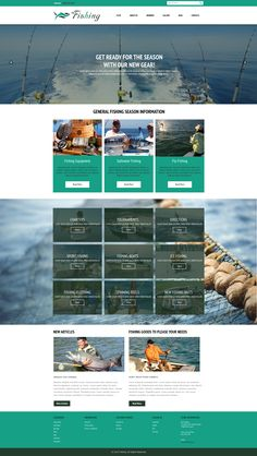 Sell365's Fishing Template. One of the best Website Builder in India. Design and customize your own website with our free website templates.