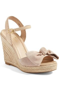 kate spade new york jane espadrille wedge sandal (Women) available at #Nordstrom