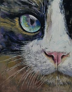 MICHAEL CREESE — Showshoe Cat by Michael Creese