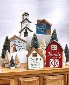 Scrap Wood Crafts, Wood Block Crafts, Scrap Wood Projects, Wooden Crafts, Wood Blocks, Christmas Wood Crafts, Christmas Crafts, Home Crafts, Diy Home Decor