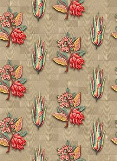 Textile Prints, Textile Patterns, Floral Prints, Flower Backgrounds, Flower Wallpaper, Motif Design, Textile Design, Chintz Fabric, Victorian Flowers