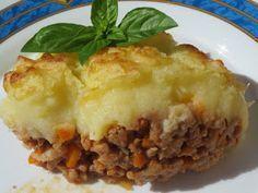 Pastel de carne y patata con Thermomix