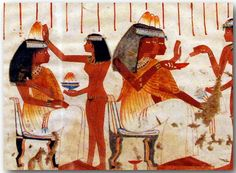 Women in Ancient Egyptian Art 006 Facsimile-series of ancient Egyptian tomb paintings. The Metropolitan Museum of Art, New York, USA. Here you find a link to the website of the museum: