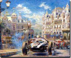 History of Formula 1 - Artist Gallery - Alfredo De la Maria