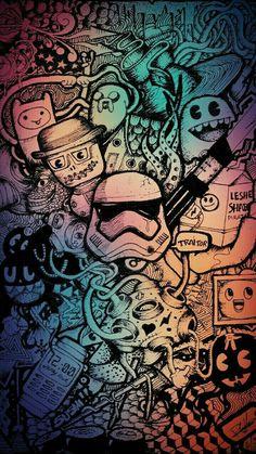 Graffiti Wallpaper für Mobile - lo que me gusta - News Marvel Wallpaper, Galaxy Wallpaper, Cartoon Wallpaper, Cool Wallpaper, Mobile Wallpaper, Wallpaper Backgrounds, Colorful Backgrounds, Screen Wallpaper, Graffiti Wallpaper Iphone