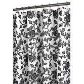 Found it at Wayfair - Prints Floral Swirl Shower Curtain