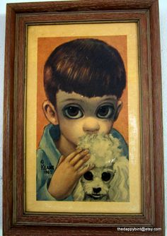 Margaret Keane - A Boy and His Dog
