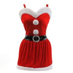 I can definitely make this!  Mrs. Claus Apron