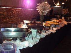 This is a Wedding Buffet Set Up by Royal Catering DFW, a vendor at 1899 Farmhouse Wedding Venue near Plano, TX. ( http://1899farmhouse.com/)