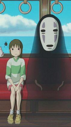 fondo de pantalla anime | Tumblr Art Studio Ghibli, Studio Ghibli Films, Hayao Miyazaki, Anime Studio, Manga Anime, Anime Art, Chihiro Y Haku, Film D'animation, My Neighbor Totoro