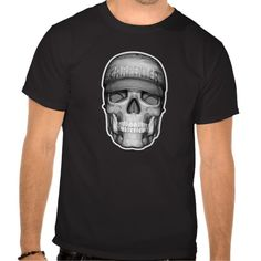 """Carpenter Skull Tshirt. Carpentry design for carpenters and carpenter apprentices. A carpenter skull wearing baseball cap with the logo """"carpenter"""". Make """"Carpenter skull"""" unique and personalize by clicking customize and adding your name/company name, funny sayings to the carpenter skull etc."""