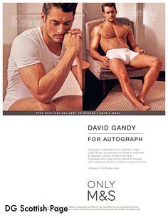 #DavidGandy for #Autograph @M&S Mariano Vivanco 2014 Attitude October 2014 source : pocketmags.com