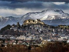Beautiful wintry image of Stirling Castle                                                                                                                                                                                 More