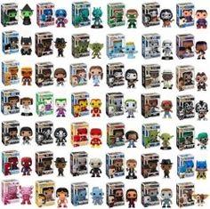 Funko Pop! Collectible Vinyl Figures
