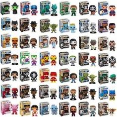 Funko Pop! Collectible Vinyl Figures