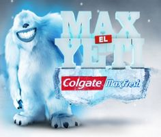 #BTL #mascot #costume #yeti #colgate #arcogrupo www.grupoarco.com.mx #botargas