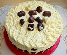 Tort combinat cu creme de ciocolată și de fructe Cooking, Cake, Desserts, Food, Kitchen, Tailgate Desserts, Deserts, Food Cakes, Eten