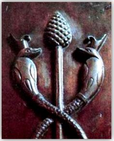 Ancient pinecone symbolism - fascinating!