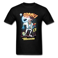 Video Game Tshirt Newest Groovy Space Adventures Time Fight On Moon T Shirt Surprised Anime Fan T-Shirt For Youth Man 2018 Cheap Games, Video Game T Shirts, Quality T Shirts, Cheap T Shirts, Adventure Time, Tee Shirts, Tees, Youth, Space