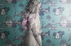 Mandarin Dream from the new Ashford Toile collection. Love Wallpaper, Guest Bath, Photo Art, Classic, Modern, Fictional Characters, Collection, Colonial, Design