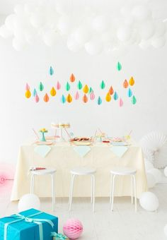 April Baby Showers | Oh Happy Day! - baby shower decor - meadoria
