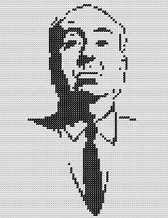 Hey, I found this really awesome Etsy listing at https://www.etsy.com/listing/88151018/pattern-alfred-hitchcock-cross-stitch