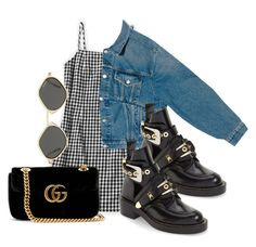 """""""Untitled #969"""" by jemappellejaime ❤ liked on Polyvore featuring Balenciaga and Gucci"""