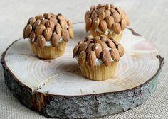 Acorn Inspired Cupcakes