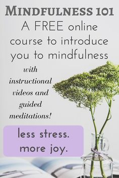 Want to learn more about mindfulness? Join this online course for FREE! http://brilliantmindfulness.pages.ontraport.net/mindfulness101