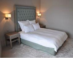 Celadon and beige contemporary bedroom Contemporary Bedroom, Geneva, Beige, Interior Design, Luxury, Projects, Furniture, Home Decor, Nest Design