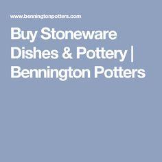 Buy Stoneware Dishes & Pottery   Bennington Potters