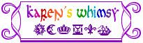 """Karen Whimsy is an artist that uses illuminated letters.  She lives in CA and her primary goal is to combine text and imagery in an interesting way-- and she definitely does that beautifully!! her examples of illuminated letters are under the """"letters and alphabets"""" tab on the left hand side.  -- 4, jh and sm"""