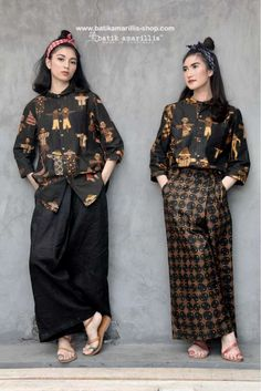 Batik Amarillis journey began in as time flies we receive lots of love and appreciation from our customers especially for our unique craftmanship. Fashion 101, Minimal Fashion, Look Fashion, Unique Fashion, Blouse Batik, Batik Dress, Muslim Fashion, Hijab Fashion, Fashion Outfits