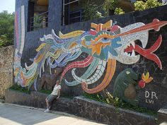 Diego Rivera Mosaic Mural 2 by twag2000, via Flickr