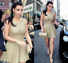 Kim Kardashian. Those shoes - I need them!