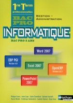 Informatique -Bac pro Gestion-Administration Office 2007 et PGI