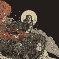 Art illustrations: 'Babalon' by Richey Beckett
