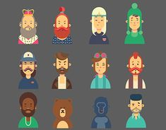 "Check out new work on my @Behance portfolio: ""Character flat design"" http://be.net/gallery/52188049/Character-flat-design"