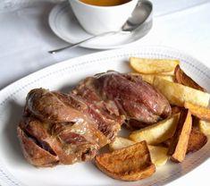 Es una de mis piezas de carne favoritas, el jarrete o morcillo, tierno, jugoso y riquísimo.     La carne se deshace en la boca si l...