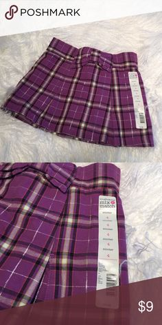 Girls Toughskins Skirt/ Skort Size 4 Girls Toughskins Skirt/ Skort Size 4 Brand New With Tag. Toughskins Bottoms Skorts