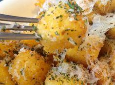 How to Make Crispy Fried Rosemary Polenta