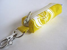 Need to Learn how to sew one of these Chapstick holder keychains so I don't lose my chapstick